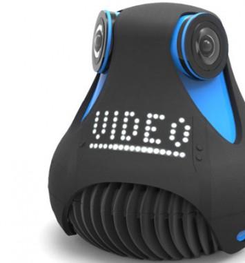 גיראופטיק מצלמת וידאו 360 מעלות